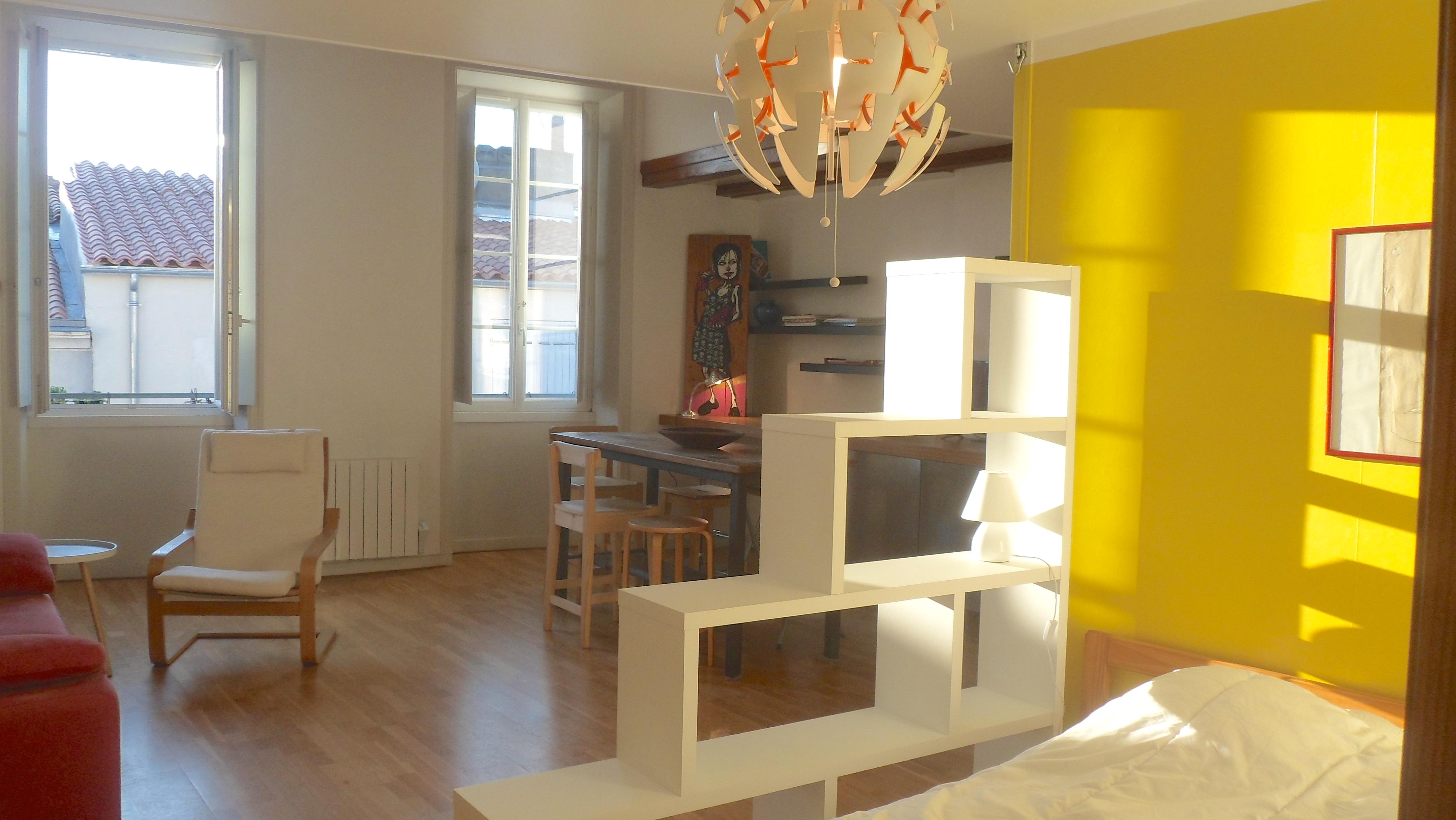 l 39 atelier appart la rochelle. Black Bedroom Furniture Sets. Home Design Ideas